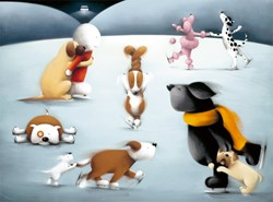 Dancing on Ice by Doug Hyde - Limited Edition on Paper sized 26x19 inches. Available from Whitewall Galleries